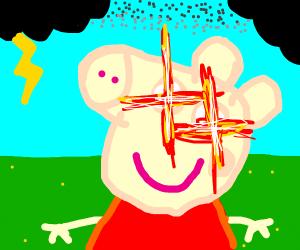 """""""Peppa Pig, omae wa mou shindeiru."""""""