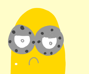 Displeased two-eyed Minion