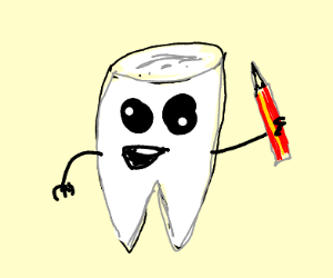 Drawing with a Tooth