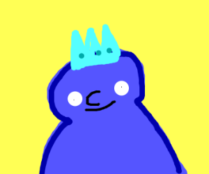blue king