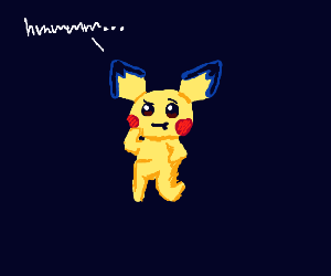 Pichu is confused