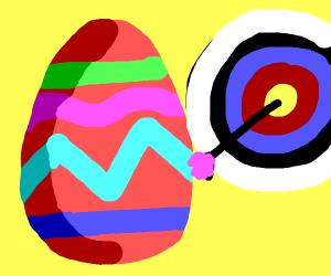 Easter egg archery