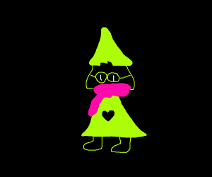 Ralsei looks good in lime green
