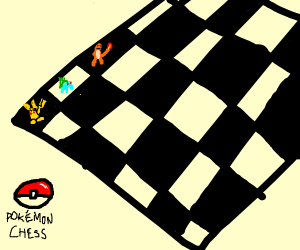 chess with pokemon as pieces