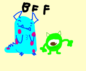 Best buds from monsters inc