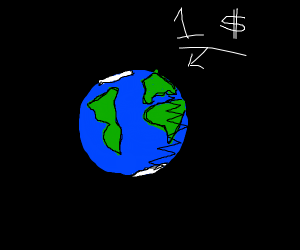 Earth sells for 1 dollar