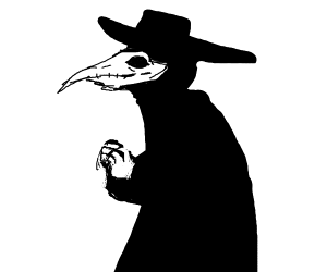 Plague Doctor but menacing