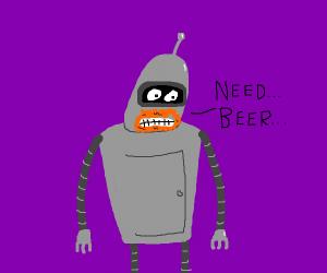 Bender doesnt feel so good...