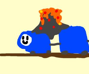 Thomas The Volcanic Engine