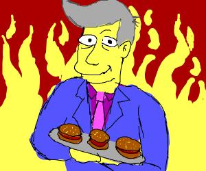 Steamed Hams but it's in hell