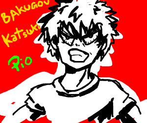 Katsuki Bakugou PIO (pass it on)