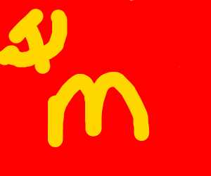 McDonald's worker wants communism