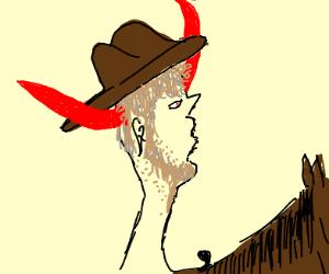 Satanic cowboy