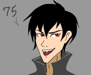 vampire says 75