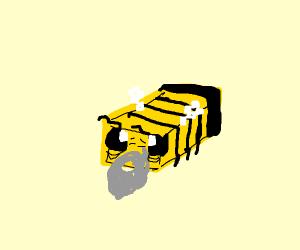 elderly minecraft bee
