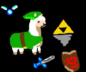 Link as a Llama