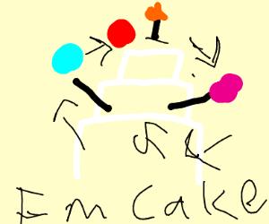 Juggling Cake
