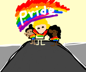 the pride parade
