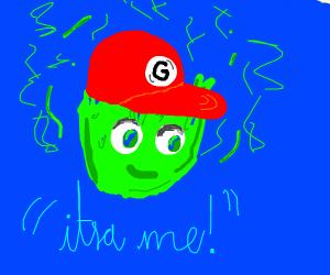 itsa me, green fire-ario
