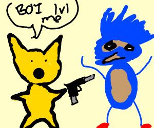 detective pikachu vs movie sonic