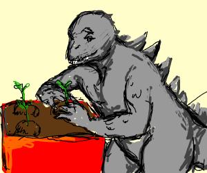 Godzilla Planting