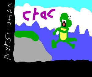 Croc be like AAAAAAAAA