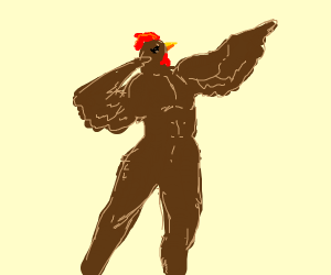 a macho chicken