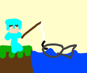 Minecraft fishing