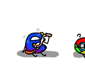 Drunk Internet Explorer