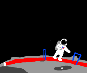 astronauts have an olimpic race
