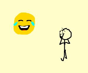 emoji: exists  stickman: triggered