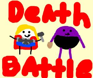 Round Thor vs Round Thanos