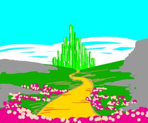 brick road to oz