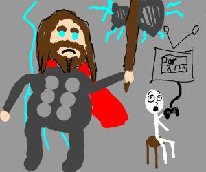 Thor Kills NoobMaster69