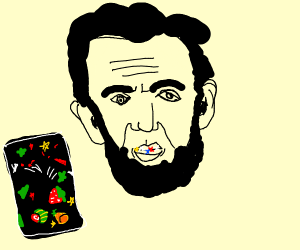 lincoln eating pop rocks