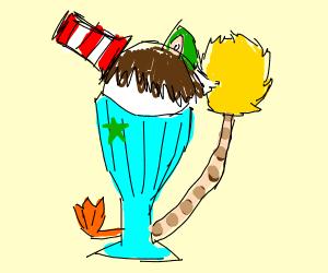 Dr. Seuss style Sundae
