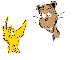 "Dr Seuss's ""The Cat & The Duck"""