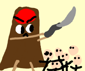 Volcano in a Battle