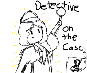 detective on the case