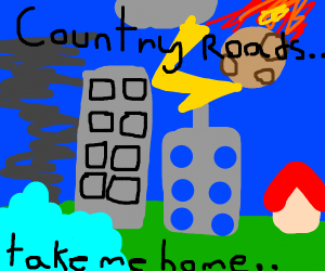 country roads,take me home