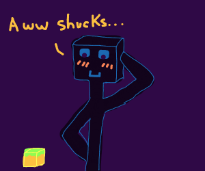 bashful enderman uwu