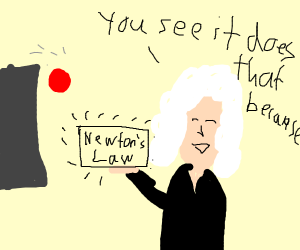 Newton's Laws of Things