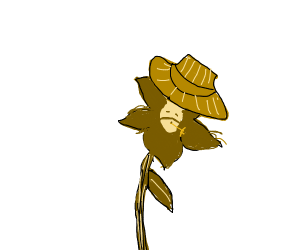 flower with hat is southern