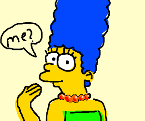 that one mom simpson character
