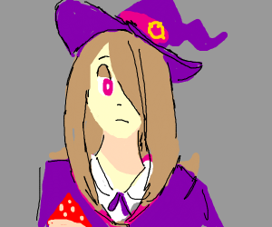 that one emo witch from little witch academia