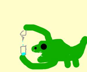Alligator Experimenting
