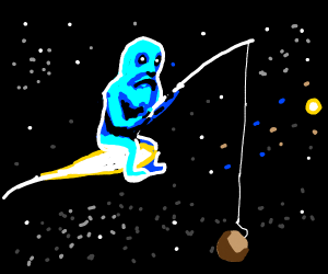 space God goes fishing for planets