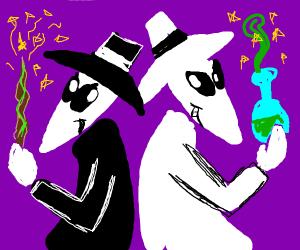 Wizard-Spy VS Spy-Wizard