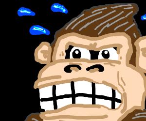 Scared Ape