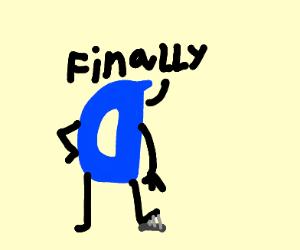 Drawception D says Finally